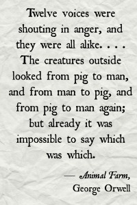 Animal Farm quote